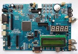 برد آموزشی FPGA مدل XC3S400PQ208